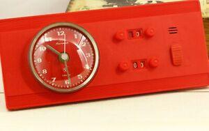 NEW wall furniture integration quartz clock timer Jantar USSR Soviet Russian