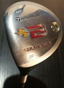 Taylormade Burner Rescue 5 Hybrid Rescue 18° REAX 49 flex S  Shaft LEFTY LH club