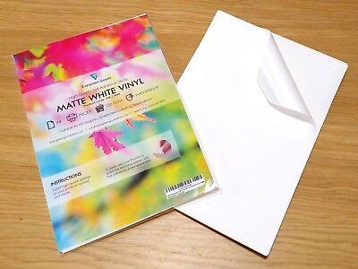 Product labelling Vinyl Waterproof Self Adhesive INKJET LASER Printable Sticker
