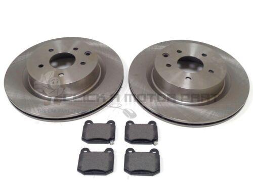 Pour nissan 350Z 3.5 V6 2003-2009 arrière 2 disques de frein et mintex pads new