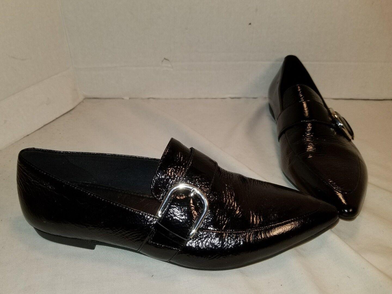 una marca di lusso NEW donna KATLIN KATLIN KATLIN nero PATENT LEATHER LOAFERS US 8 EU 38  lo stile classico