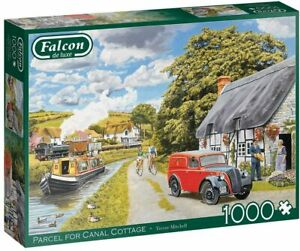 Falcon-Jigsaw-Puzzle-PARCEL-FOR-CANAL-COTTAGE-1000-Pieces