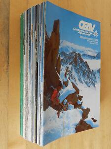 39-Hefte-OAV-Mitteilungen-Osterreichischer-Alpenverein-Berge-1977-1984