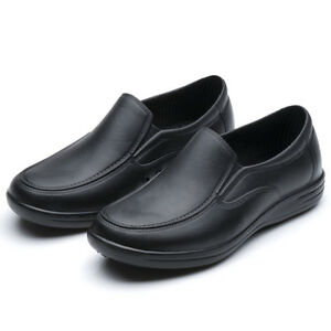 Image Is Loading WAKO Mens Chef Shoes Nonslip Safety Shoes For