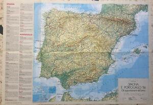 Cartina Spagna Geografica.Cartina Geografica Portogallo Spagna