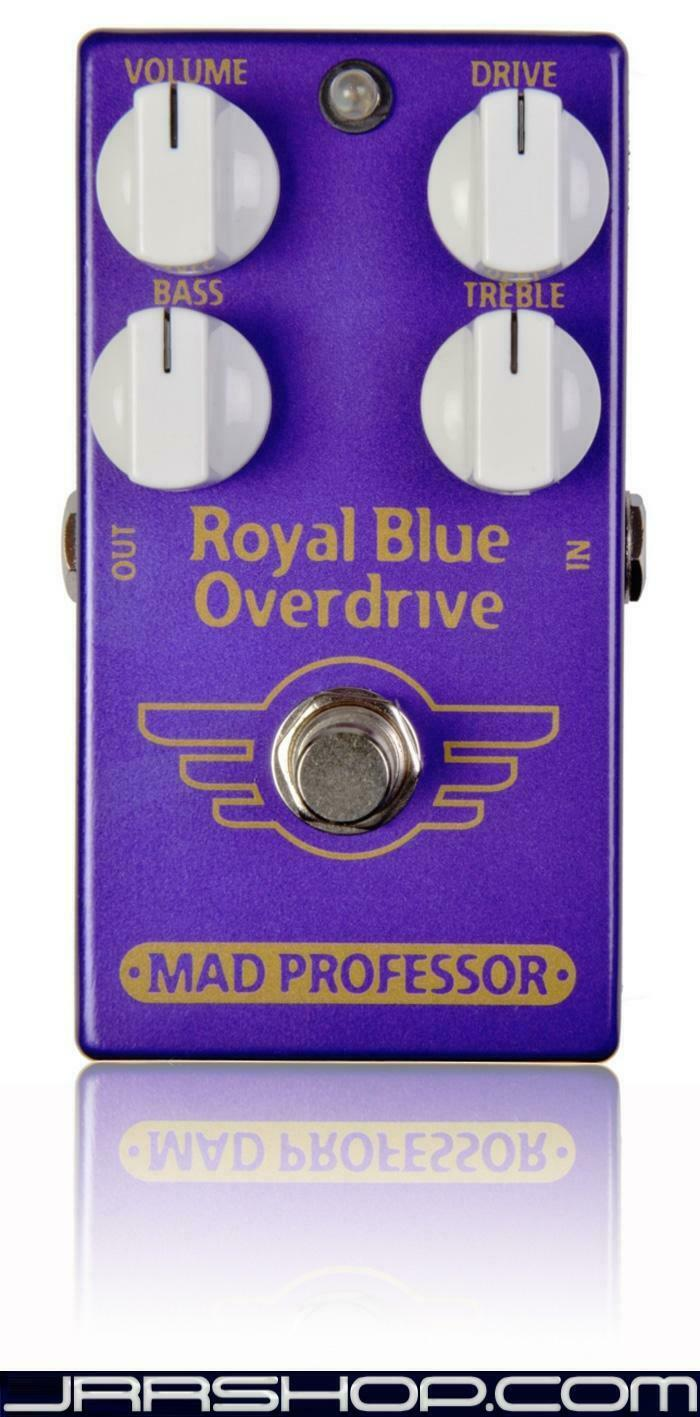 Mad Professor Royal Blau Overdrive Pedal New JRR Shop