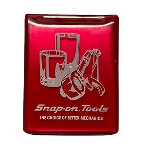 VTG Snap On Tools Promo Pocket Mirror Snap-On