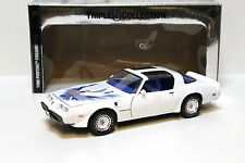 1:18 Greenlight Pontiac Firebird T/A 1980 white Ltd. NEW bei PREMIUM-MODELCARS