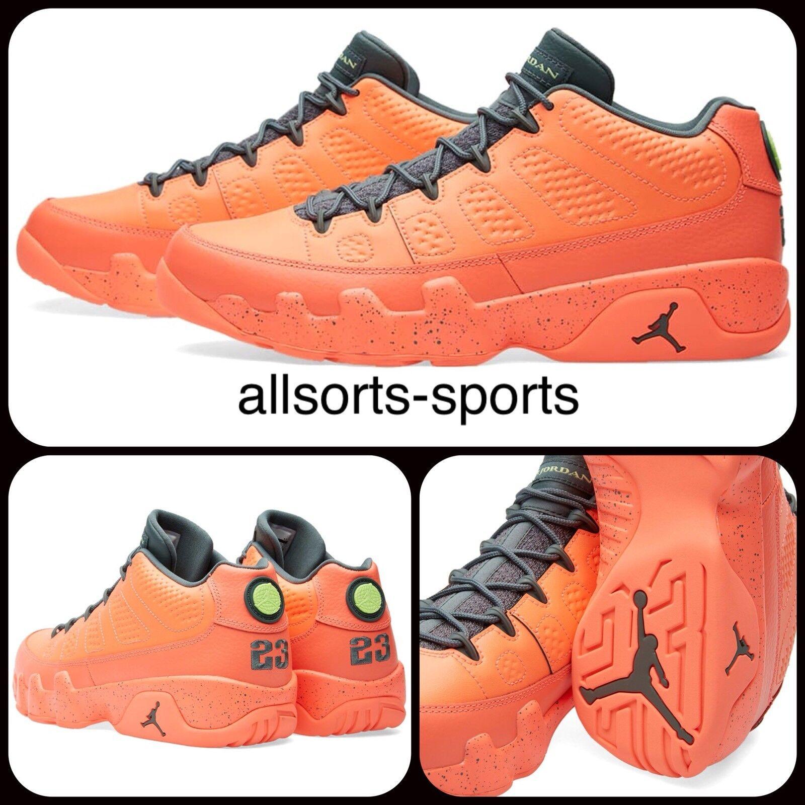 Nike Air Jordan 9 Retro Low 'Bright Mango'7.5, 9, 10 832822-805 BNIB