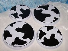 Herdabdeckplatten Herd Abdeckplatte Kuhmuster Kuh Kuhflecken Flecken Set NEU