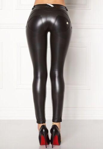 f8fd903ae37906 Waist Black S leather Eco Regular Wr Gr Skinny Freddy schwarz N0 up®  HPZqtxZ8
