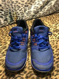 981ce0a246fb Nike Free Run 5.0 7Y 725104-400 running shoes boys youth blue black ...