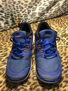 Details about Nike Free Run 5.0 7Y 725104 400 running schuhe boysyouth blueblack