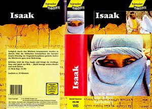 """VHS - """" ISAAK - wie uns die Bibel berichtet """" - hänssler Video"""