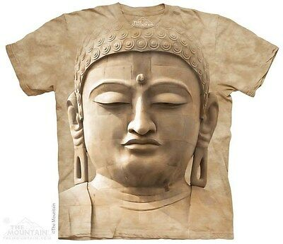 THE MOUNTAIN BUDDAH PORTRAIT PEACE WISDOM BUDDHISM RELIGION T SHIRT S-5XL