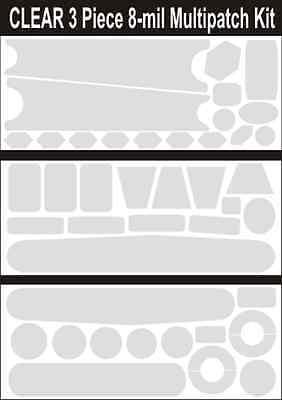 MATTE 8MIL 2x DOWNTUBE KIT matte protection by Crankskins