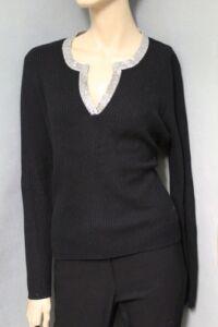 maglione cachemire paillettes International 100 scintillanti Moda di con FHz8gWwq