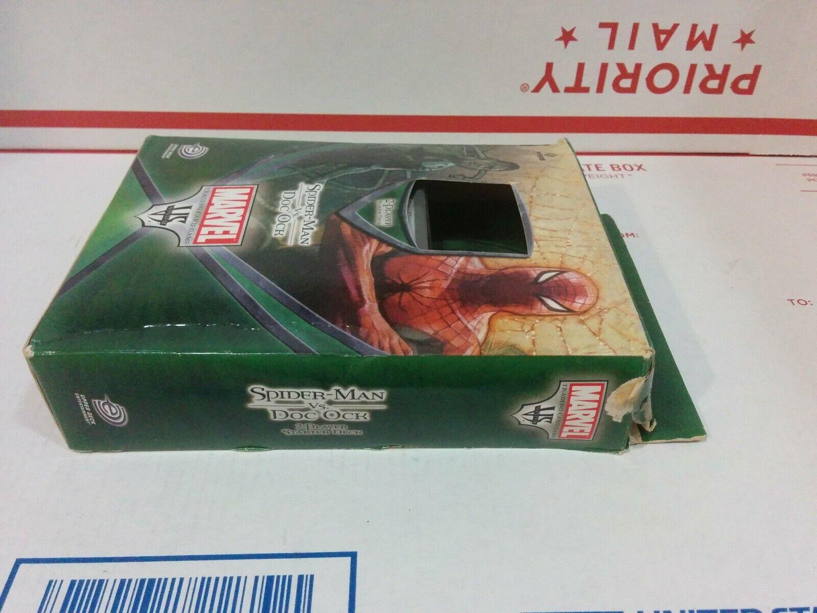 System Spiderman Vs Vs Doc Ock 1ST Ed Sealed Box 6 Decks