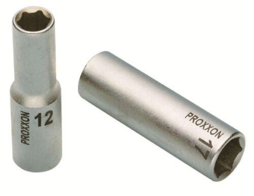 "21 mm Proxxon 1//2/"" Tiefbett-Steckschlüsseleinsatz"