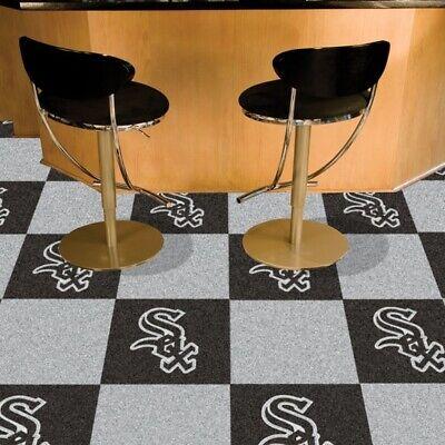 Chicago White Sox Carpet Floor Tiles