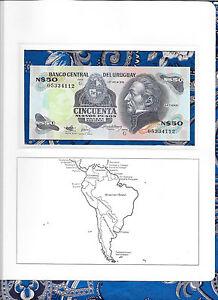Banknote-Uruguay-50-New-Pesos-1989-P61A-UNC-05334112-Serie-G