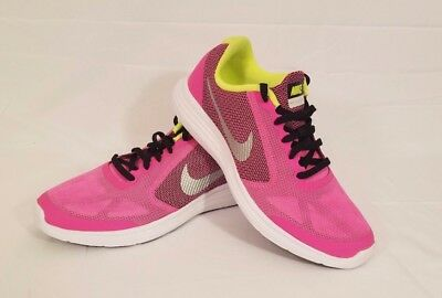 Nike Revolution 3 GS Big Kids 819416 007 YOUTH GIRLS SIZE 4Y,5.5Y,6Y