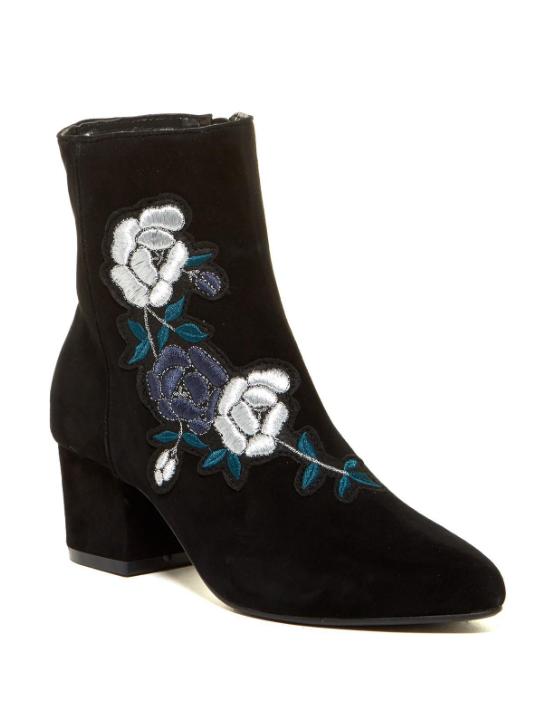 Steven By Steve Madden Women's Black Brooker Ankle Boots Sz Sz Sz 8M 2748  7c3d8e
