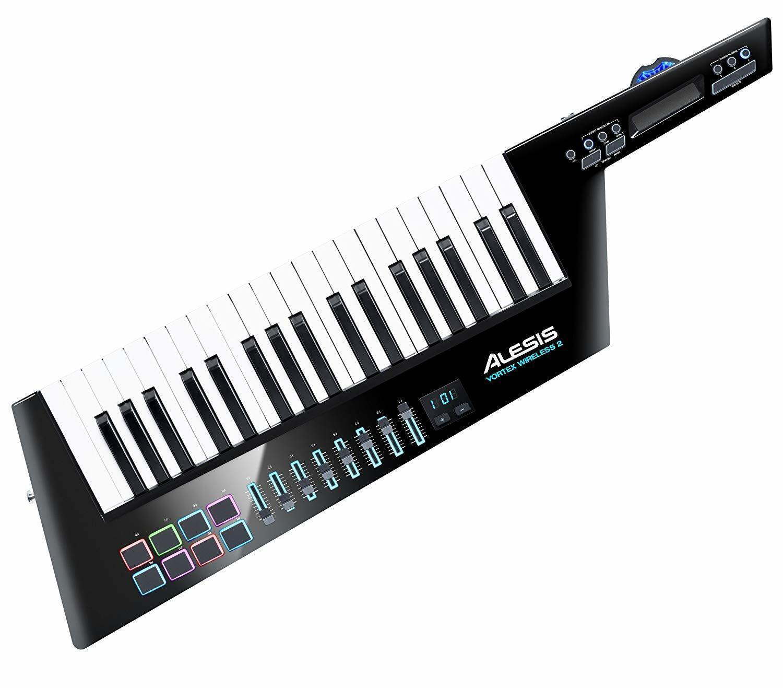 Alesis Vortex Wireless 2 USB MIDI Schulter Keyboard Controller von JAPAN NEU