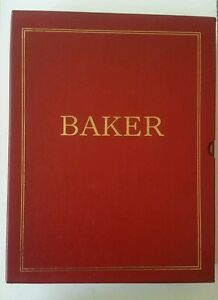 Image Is Loading Baker Furniture Company Catalogue 2 Volumes Amp Index