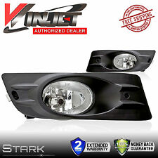 06-07 Accord Coupe Only Fog Lights 2 Door Front Lamps Clear Lens - PAIR
