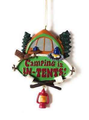 Midwest-CBK Camping is in Tents Resin Christmas Ornament ...