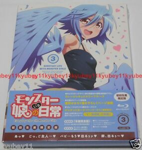 New Monster Musume no Iru Nichijou Vol.3 First Limited ...