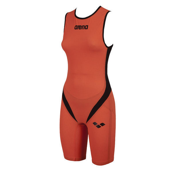 Arena damen Trisuit Carbon Pro ZIP damen - Orange L