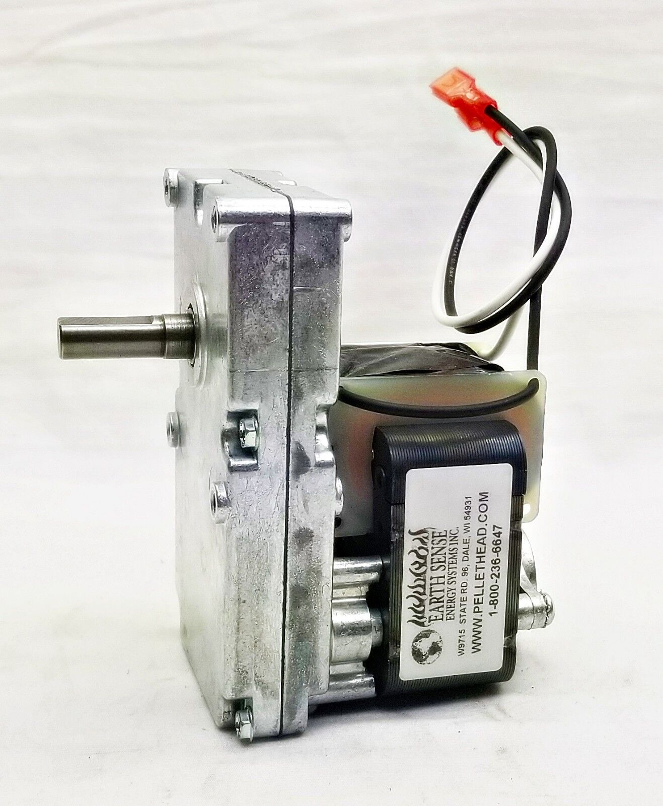 60Hz For Harman Pellet Stove Auger Gear Feed Motor 4RPM CW 120V