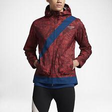 100% Auth Nike NikeLab Gyakusou Camo Leaf Running Jacket sz S [886112-670]