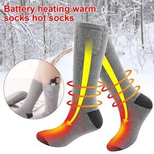 Pile-electrique-Chauffee-Chaussettes-pieds-chauffe-chauffage-de-Peche-sur-Glace-pied-chaussure-botte