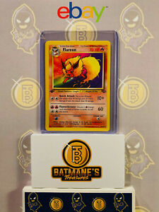 Flareon-19-64-1st-Edition-NM-Near-Mint-Jungle-Set-Rare-Non-Holo-Pokemon-Card