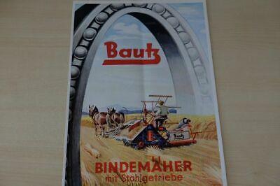 200514) Bautz - Bindemäher - Prospekt 195?