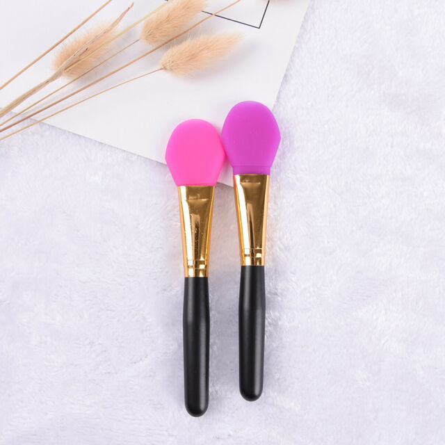 Super Soft Silicone Facial Face Mask Mud Mixing Makeup Brush Applicator Tool FT