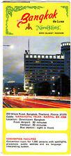 Bangkok Narai Hotel 222 Silom Road Vintage Brochure Room Rate Sheet Photos