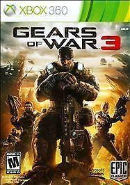 1 of 1 - Gears of War 3 (Microsoft Xbox 360, 2011)