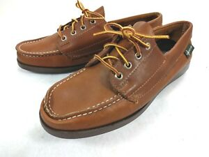 45d5ab3cacf Eastland Womens Size 9 M Moc Toe Loafers Lace Up Boat Shoes