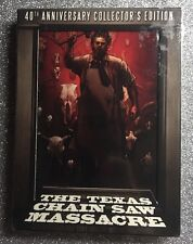 The Texas Chainsaw Massacre (Blu-ray/DVD, 2014, 4-Discs, 40th Anniversary) NEW