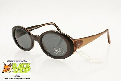 Realistico Look Mod. 1645 Vintage Women's Sunglasses Made In Italy, Round Cat Eye, Nos 90s