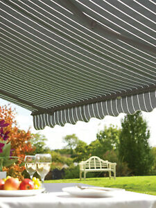 Greenhurst Window Awning 2 Metre Drop Arm Domestic Commercial Use Easy Instal