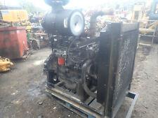 John Deere 6081af001 Turbo Diesel Engine Video Power Unit 6081 81 Mechanical
