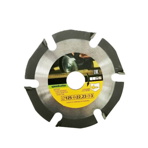Wood Cutting Speed Cutter Carving Shaping Disc for 22mm Angle Grinder