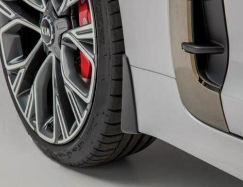 J5F46AC100 Genuine Kia Stinger GT 2018 /> Front Mudflap//Mud Flap Kit Set of 2