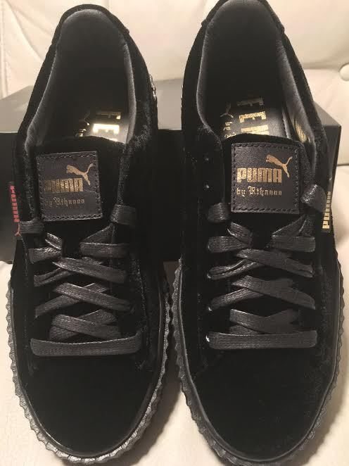 Men's/Women's Fenty Rihanna - Creepers - Rihanna Black Velvet Promotion The latest technology Very practical a6d487