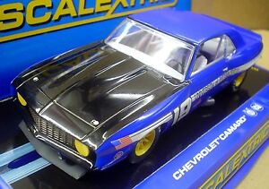 SCALEXTRIC-1-32-SCALE-C3005-CHEVROLET-CAMARO-UNIVERSITY-OF-PITTSBURCH-19-NIB